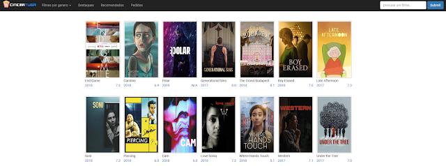 Cinematuga - Boa opção para vermos Filmes