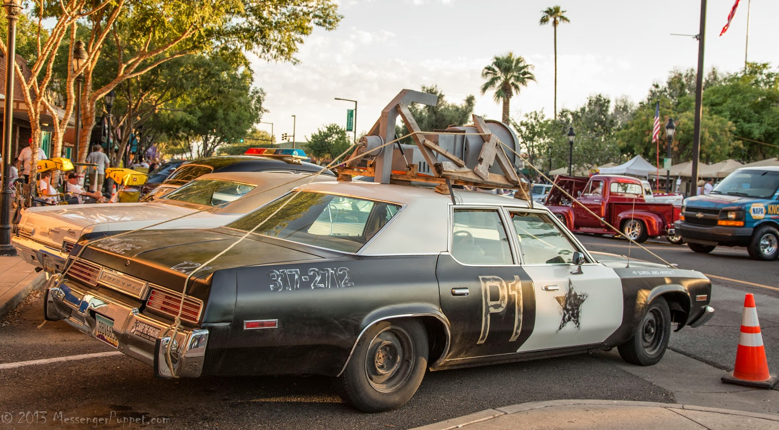 1974, Plymouth, Fury, bluesmobile