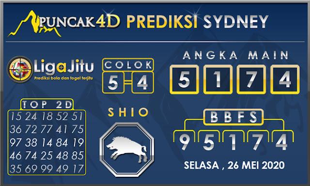 PREDIKSI TOGEL SYDNEY PUNCAK4D 26 MEI 2020