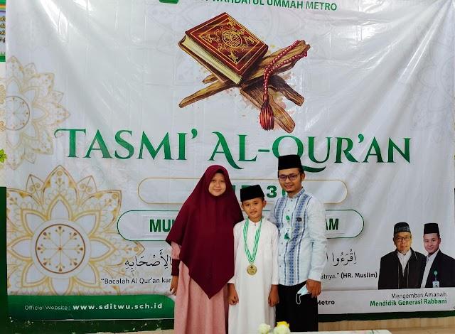 Tasmi' Hafalan Al Quran (Ujian)