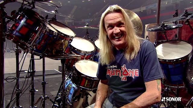 "Nicko McBrain: ""É um grande desafio tocar The Wicker Man"""