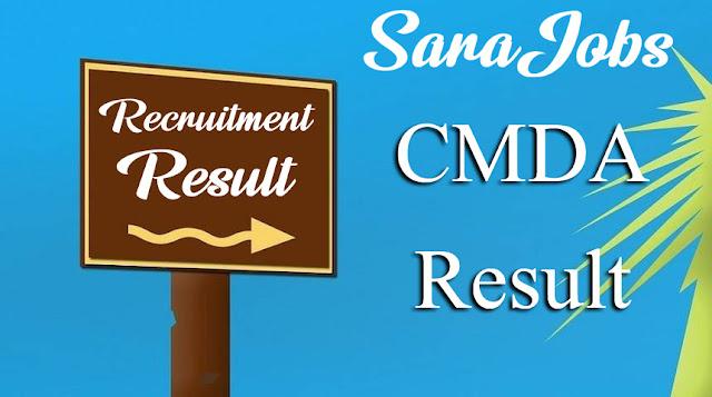 CMDA Result
