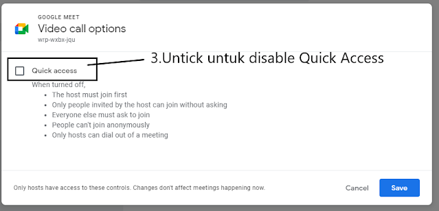 Quick Access Function
