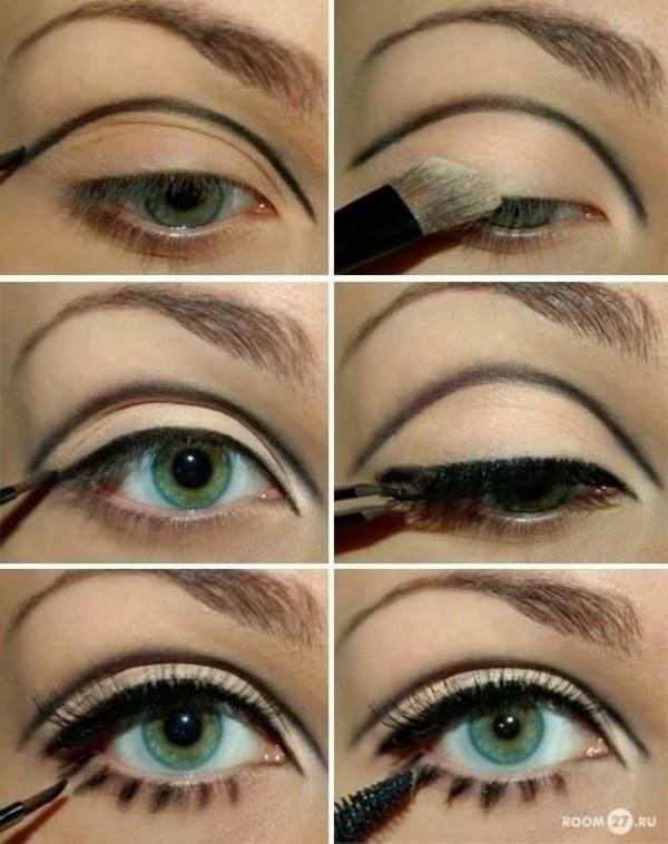 Maquiagem de Edie Sedgwick