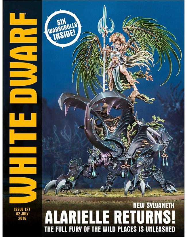 White Dwarf #127 - Alarielle returns!