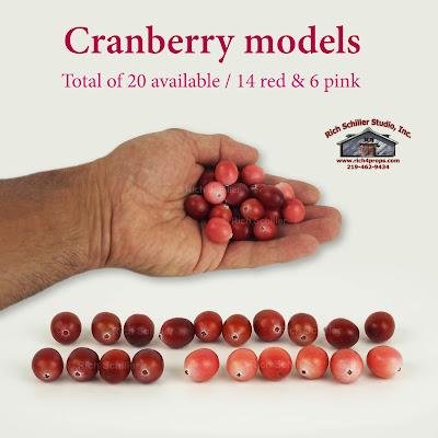 fake cranberries, fake cranberry, cranberry models, cranberry props,