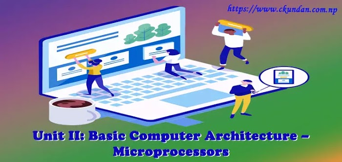 Unit II: Basic Computer Architecture – Microprocessors