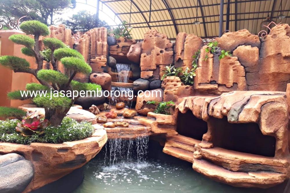 Jasa Tukang Relief Kolam Tebing Grobogan - Purwodadi | Jasa Pembuatan Dekorasi Kolam Air Terjun di Grobogan - Purwodadi