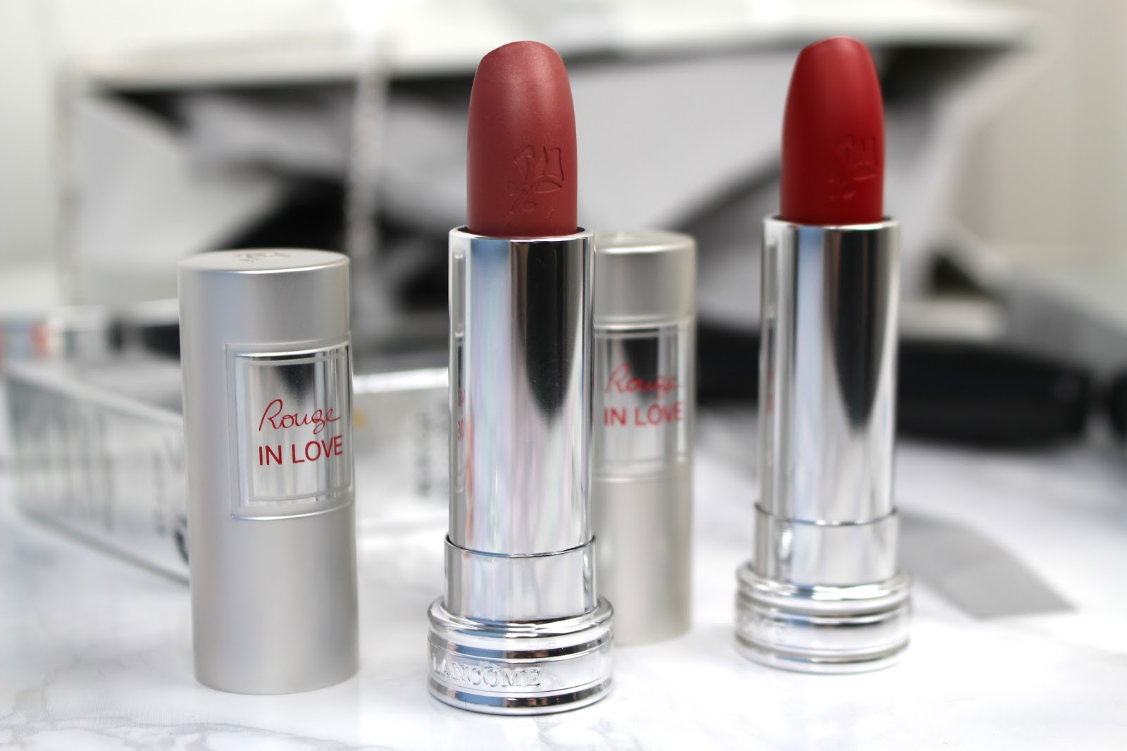Lancôme Rouge In Love Collection Blog Review