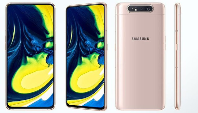 Samsung launched Galaxy A80 with a 48MP rotating camera