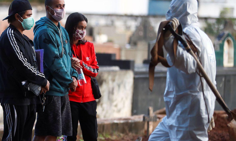 Brasil registra 145 mil casos de covid-19 e 10.627 mortes