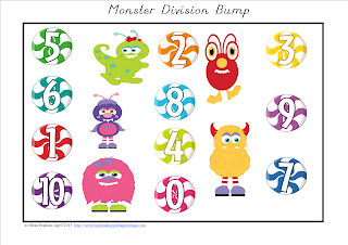 Monster Division Bump FREEBIE