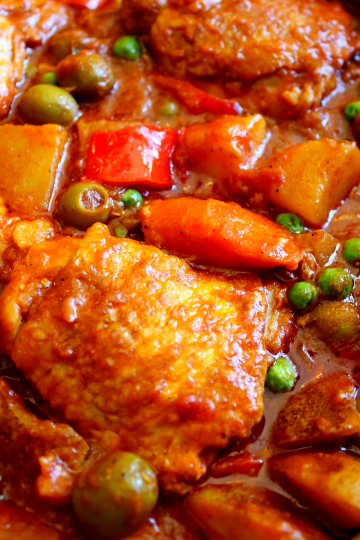Chicken Stew Afritada