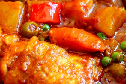 Chicken Stew Afritada