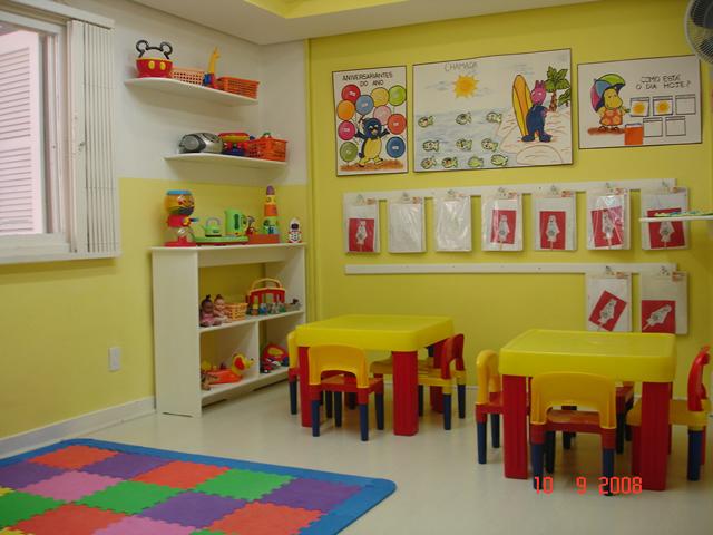ambientacion del aula de sala maternal