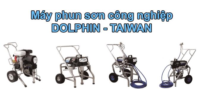 máy phun sơn công nghiệp dolphin