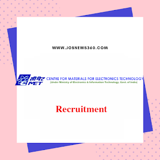 CMET Recruitment 2019 for JRF & Project Staff posts