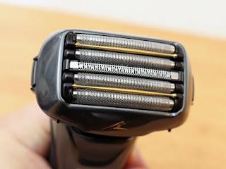 パナソニック ラムダッシュ ES-LV5B-K5枚刃ヘッド