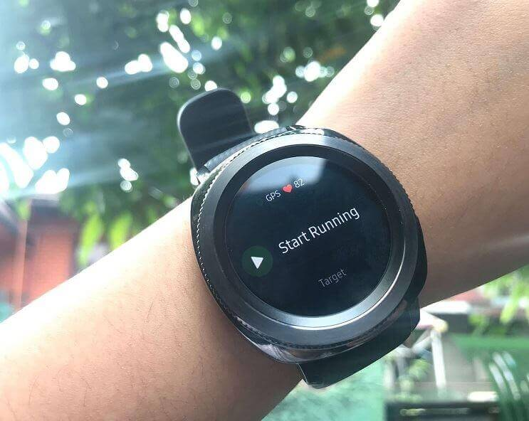 Samsung Gear Sport - Running Mode