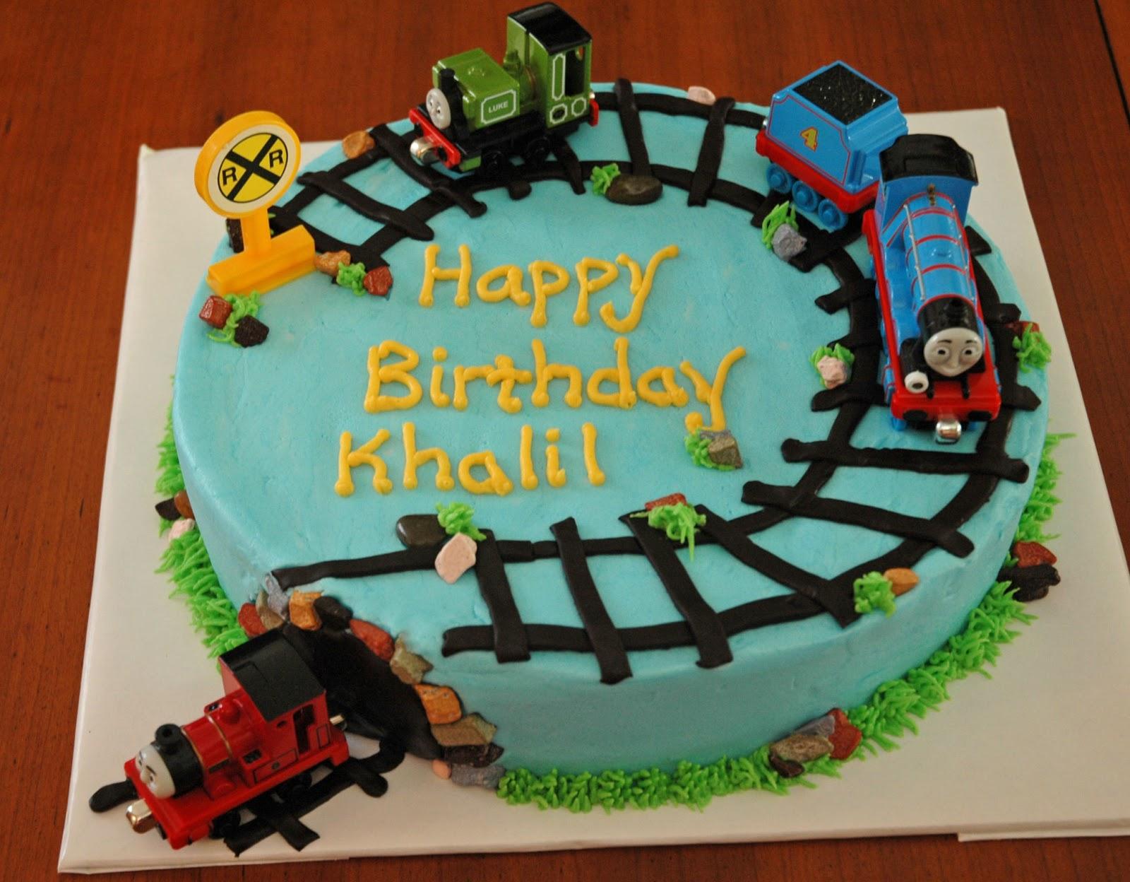 Cheers to many more birthdays watching you grow u0026 eat cake for years to come! Vanilla cake vanilla buttercream icing fondant decorations u0026 toy trains oh ... & CASHu0027S CAKES: Thomas the Train cake CHOO CHOOO!