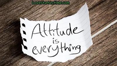 Attitude Status In Hindi Quotes