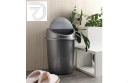 All Time Silver 7 L Klean Dust Bin Set of 2 For Rs 314 (Mrp 460) at Pepperfry