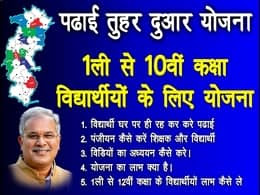 CG Padhai Tuhar Dwar Student Teacher Registration
