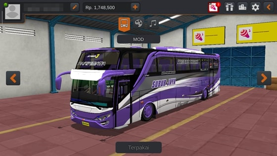Livery JB3 SHD ZTOM Subur Jaya Carrera GT