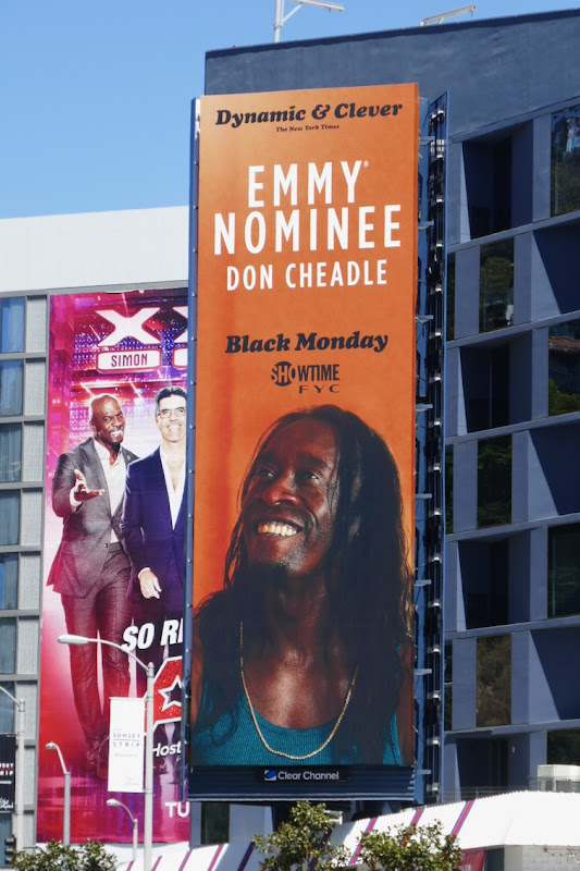 Don Cheadle Black Monday season 2 Emmy nominee billboard