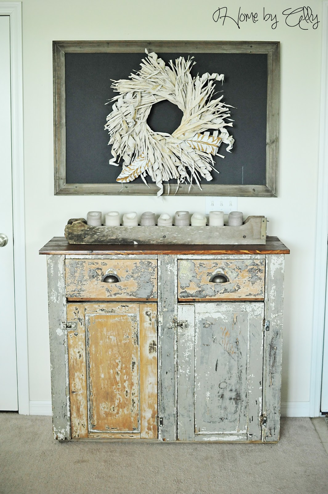 Home by ally shabby chic hutch reveal how to achieve a - What is shabby chic ...
