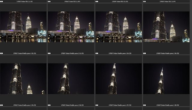 Burj Khalifa Vertical Photomerge