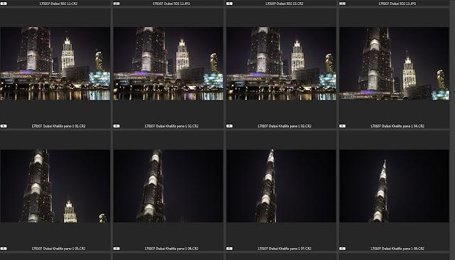 Burj Khalifa Vertical Photomerge