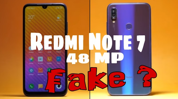 Redmi Note 7 - 48 MP camera | What is reality, know the truth