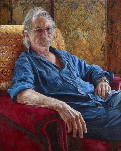 """Bruce Robinson, writer and director"" by Alastair Adams 
