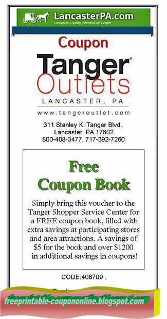 Tanger outlet coupons 2018 gonzales