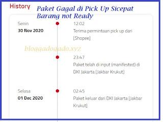 Arti Paket Gagal di Pick Up Sicepat Shopee dan Tokopedia