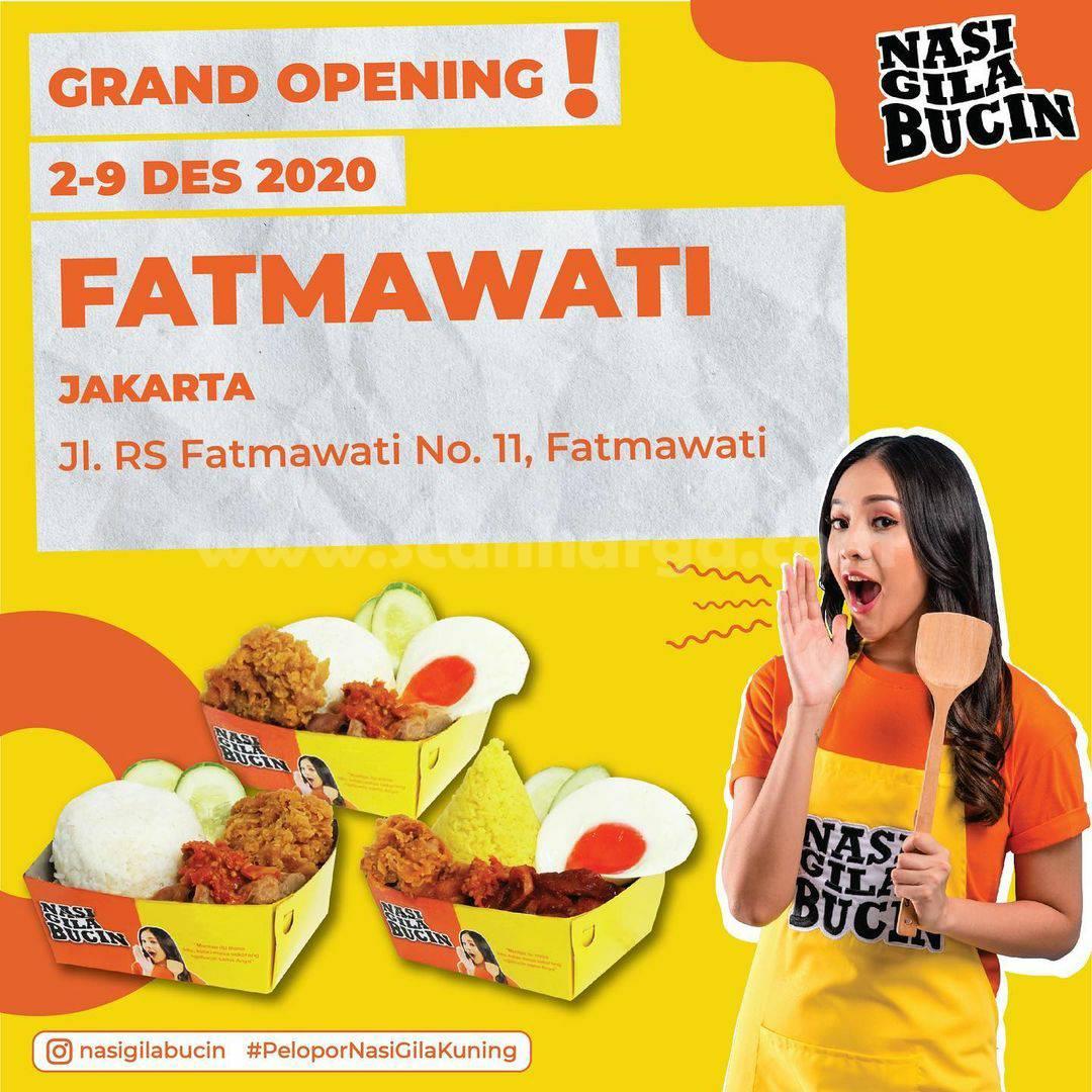 Nasi Gila Bucin Fatmawati Grand Opening Promo Beli 1 Gratis 1