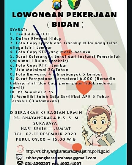 Lowongan Kerja Rs Bhayangkara Surabaya