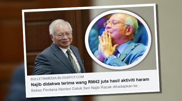 Najib mengaku tidak bersalah