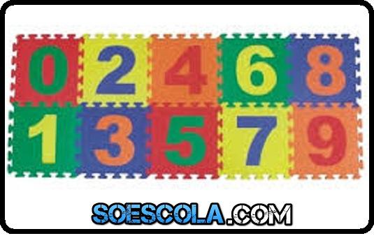Seguem algumas atividades com números e numerais para serem usadas no 1º ano e algumas na educação infantil.