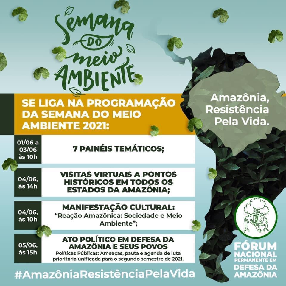 Resistência e reação: Semana do Meio Ambiente unifica lutas e tem participação de celebridades