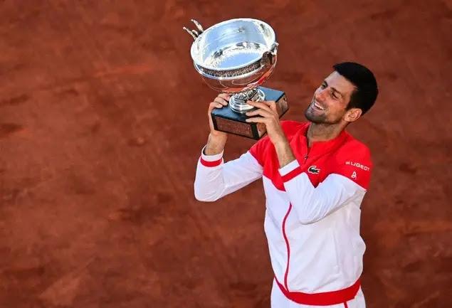 Djokovic won his second Roland Garros title. Photo Eurosports