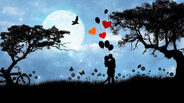 love romance couple