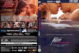 AFTER: AQUI EMPIEZA TODO – AFTER – 2019 [COVER – DVD]