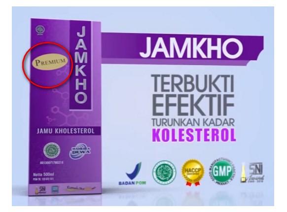 Jamkho Jamu Kolesterol 500ml