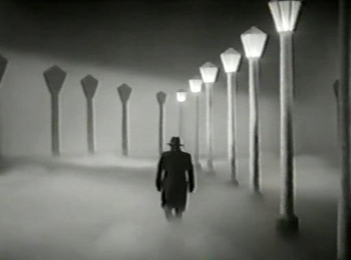 Una secuencia onírica en El hombre sin rostro 1950