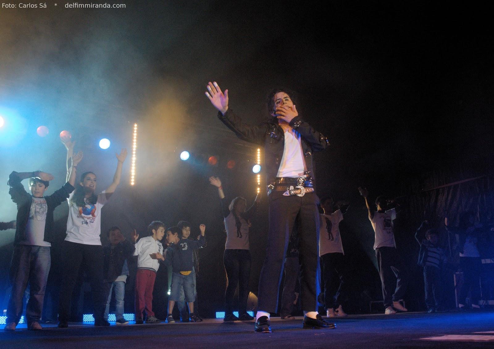 Delfim Miranda - Michael Jackson Tribute - Heal the World - Live Show