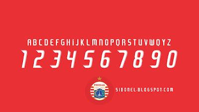 Font Persija 2019