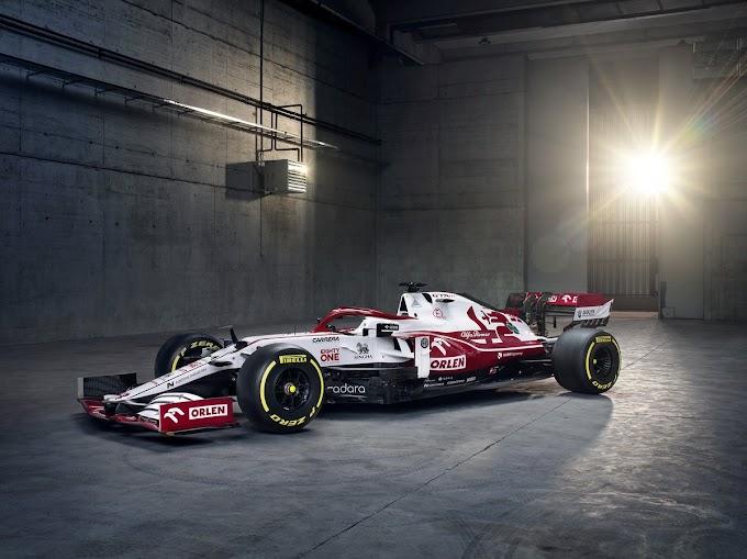 F1-2021, presentata l'Alfa Romeo Orlen