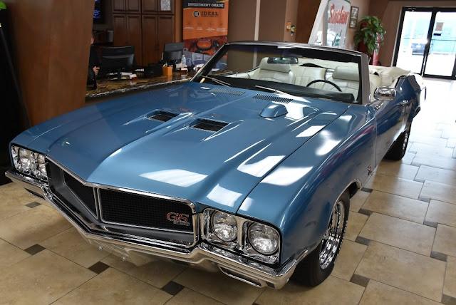 Buick Gran Sport 1970s American classic muscle car